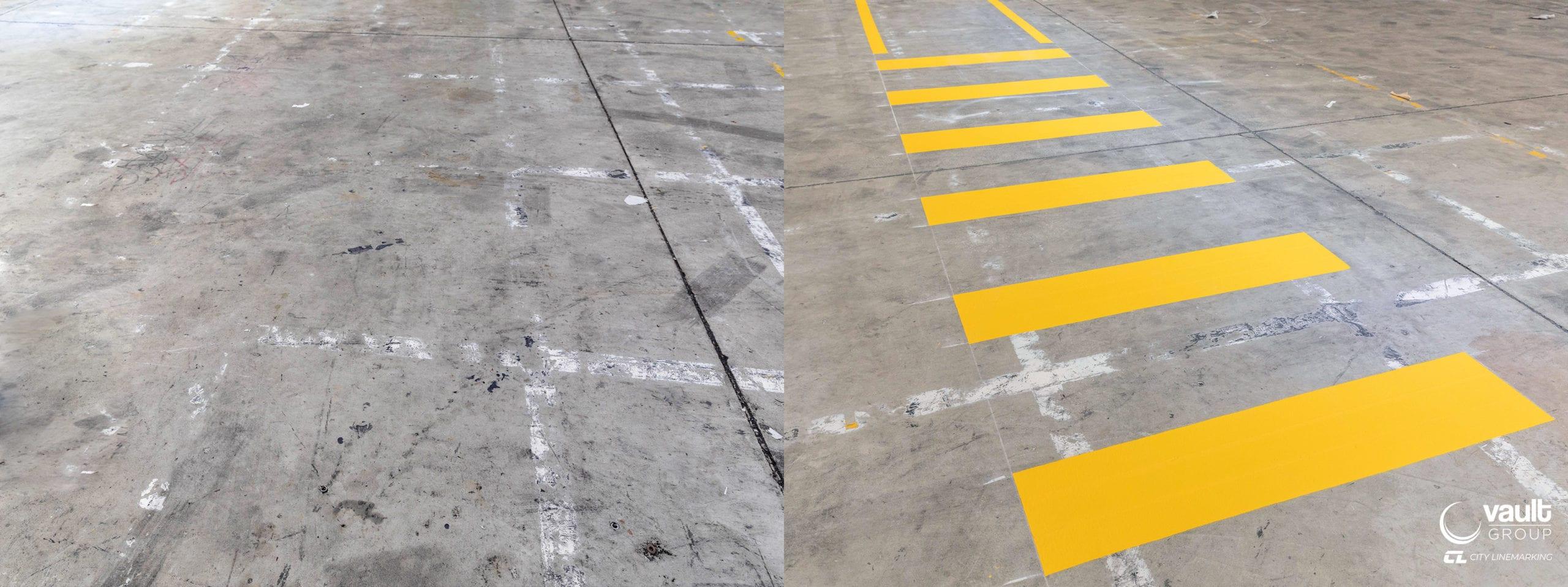 City Line Marking